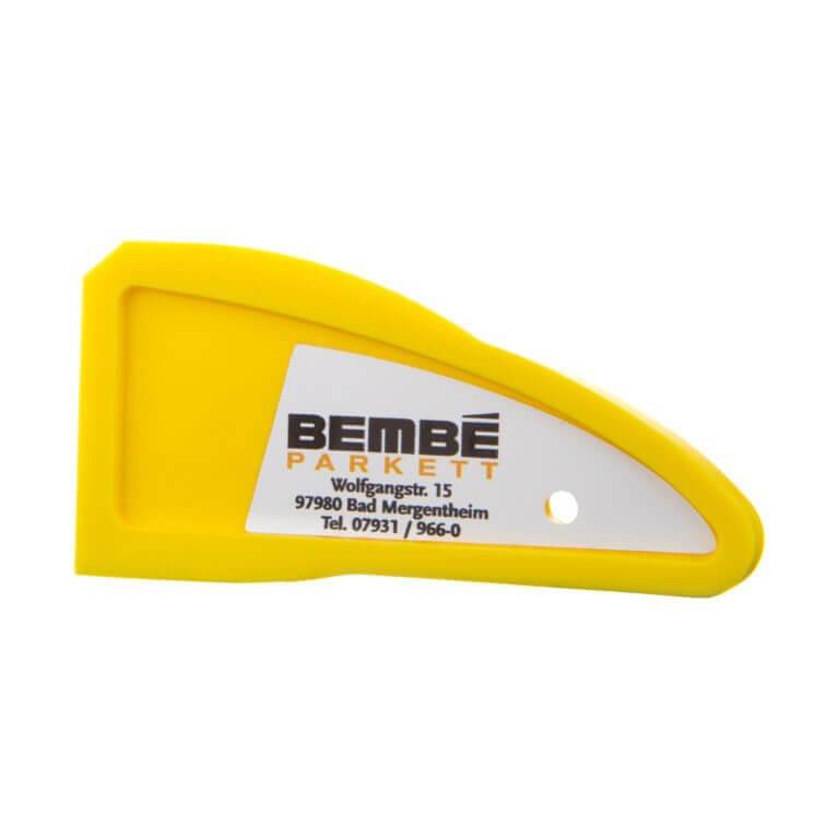 Glättkein in gelb von Bembé Parkett